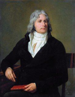 Portrait de Louis-Francois Bertin | Francois Xavier Fabre | Oil Painting
