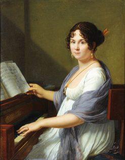 Portrait de Genevieve Aimée Victoire Bertin | Francois Xavier Fabre | Oil Painting