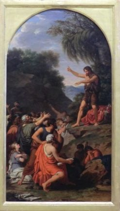 Preachings of Saint John the Baptist | Francois Xavier Fabre | Oil Painting