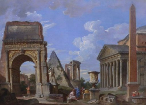 Antique Ruins | Giovanni Paolo Panini | Oil Painting