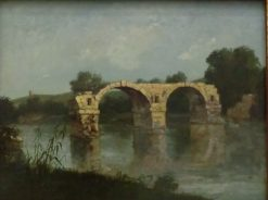 The Bridge of Ambrussum | Gustave Courbet | Oil Painting