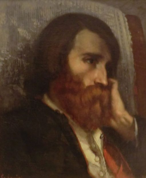 Bruyas Sick | Gustave Courbet | Oil Painting