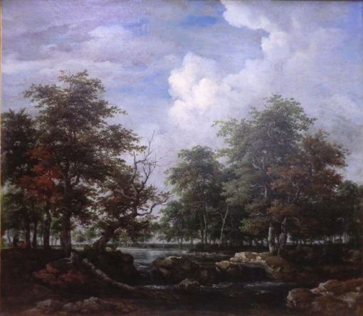 Wooded Landscape | Jacob van Ruisdael | Oil Painting