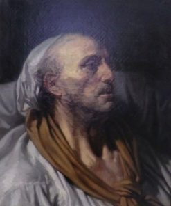 Bust of a Paraplegic | Jean Baptiste Greuze | Oil Painting