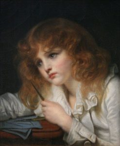 The Young Mathematician | Jean Baptiste Greuze | Oil Painting