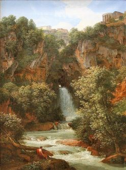 Falls at Tivoli | Johann Christian Reinhart | Oil Painting