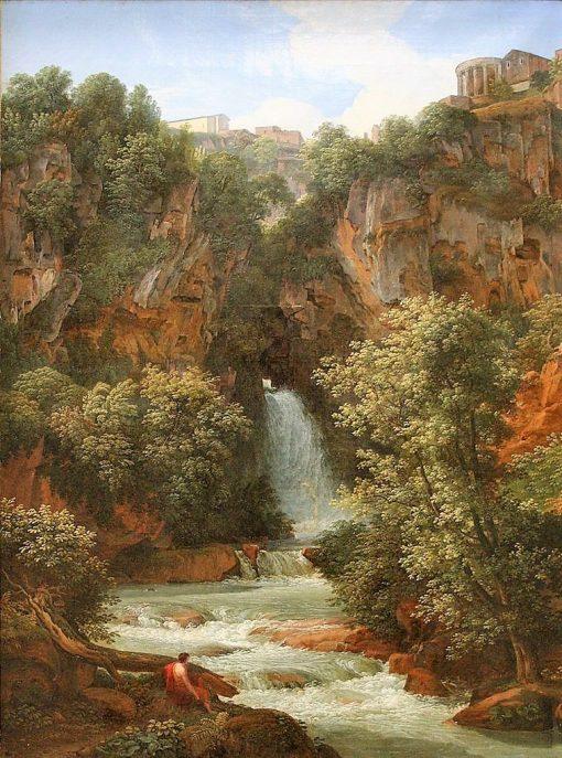 Falls at Tivoli | Johann Christian Reinhart | Oil Painting