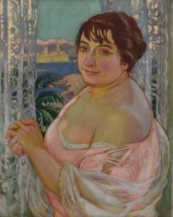 Portrait of Elizabeth Denis | Maurice Denis | Oil Painting