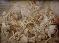 Allegory of Austrian Catholics being Attacked by Protestants | Peter Paul Rubens | Oil Painting