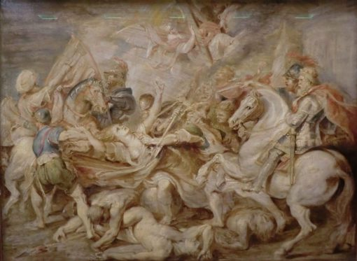 Allegory of Austrian Catholics being Attacked by Protestants   Peter Paul Rubens   Oil Painting