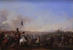 Army on the March | Philips Wouwerman | Oil Painting