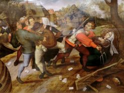 Peasants Brawling | Pieter Brueghel the Younger | Oil Painting