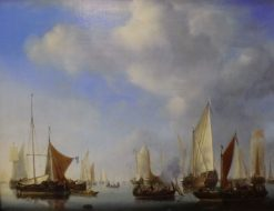 Seascape | Willem van de Velde the Younger | Oil Painting