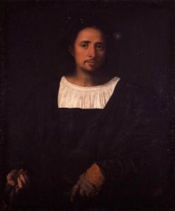 Portrait of a Man(also known as Man with Glove) | Titian | Oil Painting
