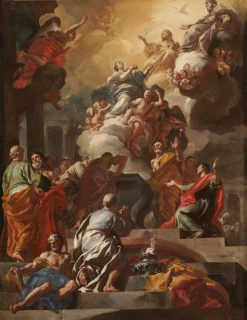 The Assumption of the Virgin | Francesco Solimena | Oil Painting