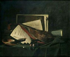 Still Life | Francois Bonvin | Oil Painting