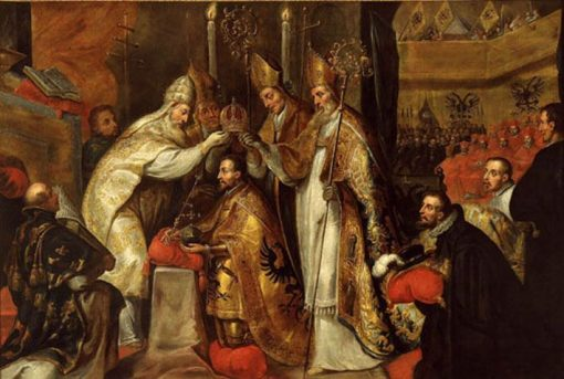 Crowning of Emeror Charles V in Boulogne | Gaspard de Crayer | Oil Painting
