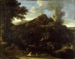 Fire at Tivoli | Gaspard Dughet | Oil Painting