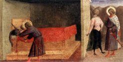 Scene from the Life of Saint Julian | Masolino da Panicale | Oil Painting