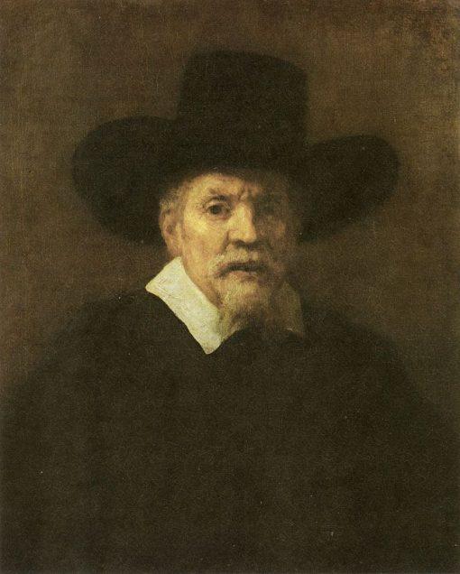 Portrait of Dr Arnold Tholinx   Rembrandt van Rijn   Oil Painting