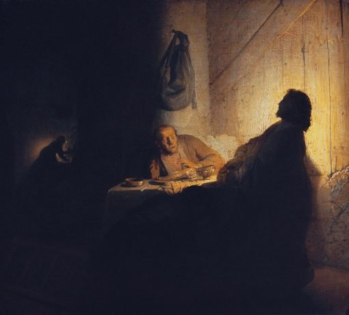 The Supper at Emmaus | Rembrandt van Rijn | Oil Painting