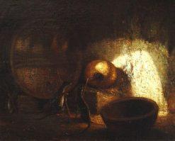 Le rat qui s'est retire du monde | Alexandre Gabriel Decamps | Oil Painting