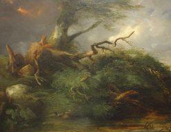 Le Chêne et le Roseau | Jules Coignet | Oil Painting