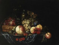 Still Life with Fruit | Cornelis de Heem | Oil Painting