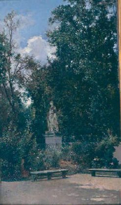 King's Garden at Versailles | Raimundo de Madrazo y Garreta | Oil Painting