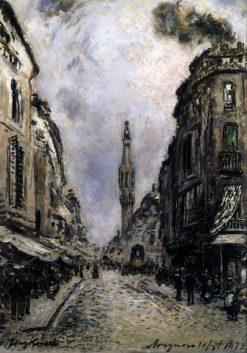 Avignon | Johan Barthold Jongkind | Oil Painting