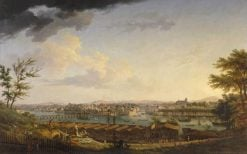 View of Bayonne taken from the Citadelle | Claude Joseph Vernet | Oil Painting