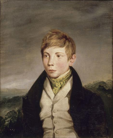 Portrait of 'Auguste-Richard de la Hautiere   Eugene Delacroix   Oil Painting