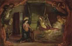 The Annunciation | Eugene Delacroix | Oil Painting