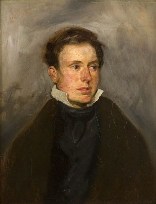 Portrait of Thales Fielding | Eugene Delacroix | Oil Painting