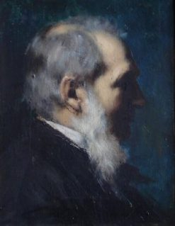Portrait of J Kunemann | Jean Jacques Henner | Oil Painting