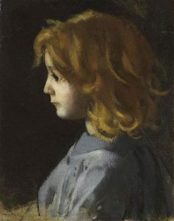 A Child of Bernwiller | Jean Jacques Henner | Oil Painting