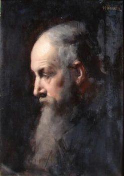 Grégoire Henner | Jean Jacques Henner | Oil Painting