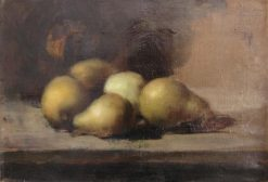 Still-Life with Apples and Pears | Jean Jacques Henner | Oil Painting