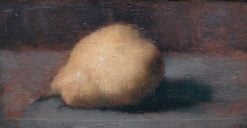 Still-Life: Pear | Jean Jacques Henner | Oil Painting