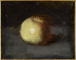 Still-Life: Yellow Apple | Jean Jacques Henner | Oil Painting