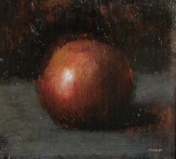 Still-Life: Red Apple | Jean Jacques Henner | Oil Painting