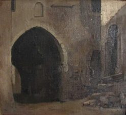 Archway at Subiaco | Jean Jacques Henner | Oil Painting