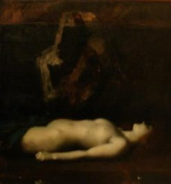Atala | Jean Jacques Henner | Oil Painting