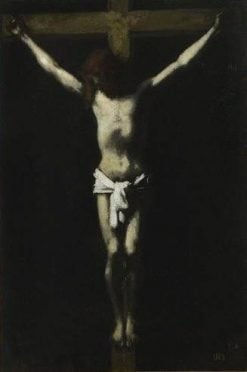 Christ on the Cross | Jean Jacques Henner | Oil Painting