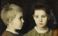 Eugénie and Jules Henner | Jean Jacques Henner | Oil Painting