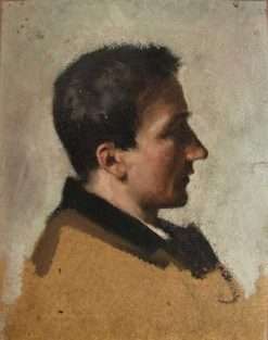 Georges-Ernest Coquart | Jean Jacques Henner | Oil Painting