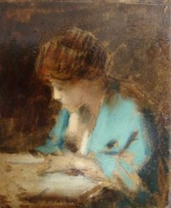 Female Figure | Jean Jacques Henner | Oil Painting