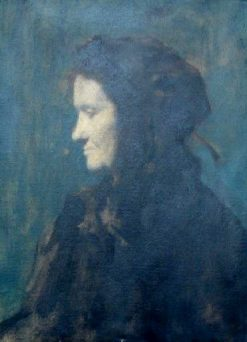 Christine Ditner | Jean Jacques Henner | Oil Painting
