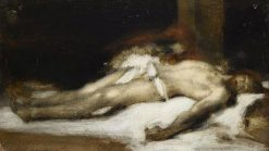 Christ and Magdalene | Jean Jacques Henner | Oil Painting