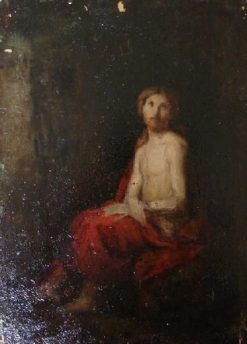 Christ in Prison | Jean Jacques Henner | Oil Painting